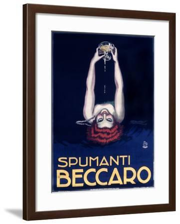 Spumanti Beccaro-Achille Luciano Mauzan-Framed Giclee Print