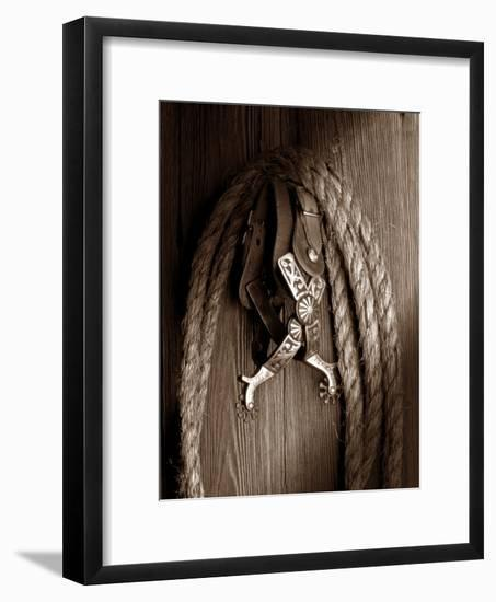 Spurs-C. McNemar-Framed Photographic Print