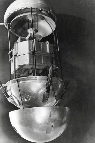Sputnik 1, Russian Satellite, 1957--Photographic Print