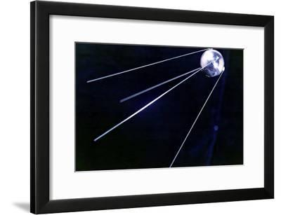 Sputnik 1, Soviet Spacecraft-Ria Novosti-Framed Photographic Print