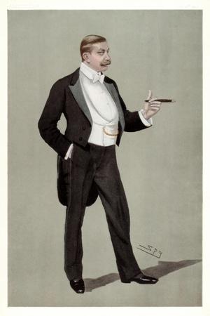 A German Attache, Baron Hermann Von Eckardstein, German Diplomat, 1898