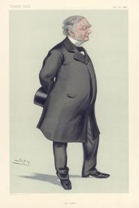 Erasmus Wilson, English Surgeon and Antiquary, 1880 by Spy