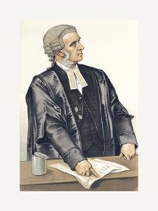 A Splendid Advocate by Spy (Leslie M^ Ward)