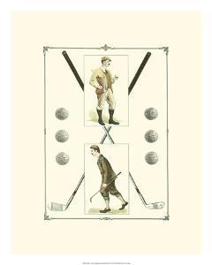 Golfers: H. Hutchinson & John Ball by Spy (Leslie M^ Ward)