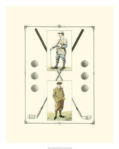 Golfers: John Henry & R. Maxwell by Spy (Leslie M^ Ward)