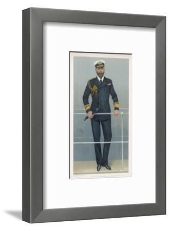 Prince Louis Alexander of Battenberg in Naval Dress