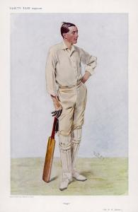 "R H ""Reggie"" Spooner English Cricketer by Spy (Leslie M^ Ward)"