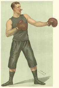 Vanity Fair Boxing by Spy (Leslie M^ Ward)