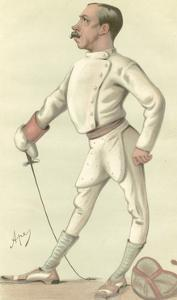 Vanity Fair Fencing by Spy (Leslie M. Ward)