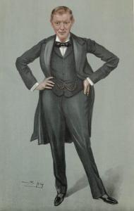 Winston Churchill British Statesman and Author by Spy (Leslie M. Ward)