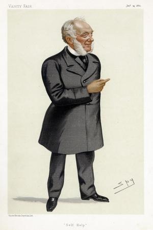 Samuel Smiles, Scottish Writer, Physician, Surgeon and Social Reformer, 1882