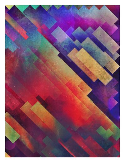 spyctrym yf yngyr-Spires-Art Print