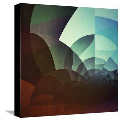 Spyyryl Yyt-Spires-Stretched Canvas Print