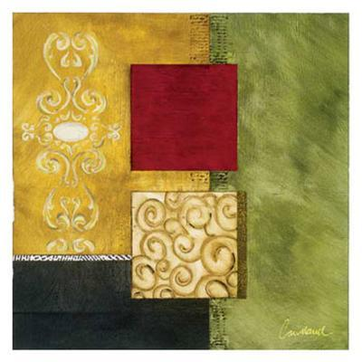 Square Abstract I-Courtland-Art Print