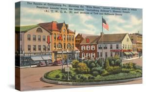 Square at Gettysburg, Pennsylvania