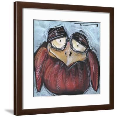 Square Bird 01a-Tim Nyberg-Framed Giclee Print