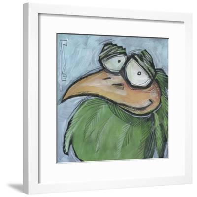Square Bird 05a-Tim Nyberg-Framed Giclee Print
