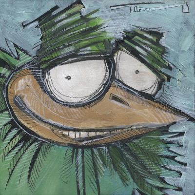Square Bird 13a-Tim Nyberg-Giclee Print