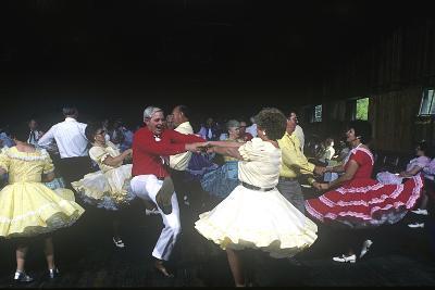Square Dance Jamboree, Renfro Valley, Kentucky--Photographic Print