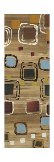 Square Dance Panel II-Jeni Lee-Premium Giclee Print