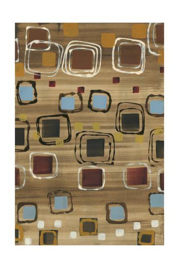 Square Dance-Jeni Lee-Premium Giclee Print