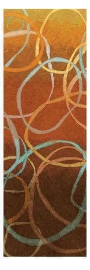Square Dancing Circles I-Sarah Adams-Premium Giclee Print