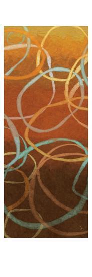Square Dancing Circles I-Sarah Adams-Art Print