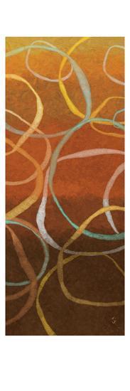 Square Dancing Circles II-Sarah Adams-Art Print