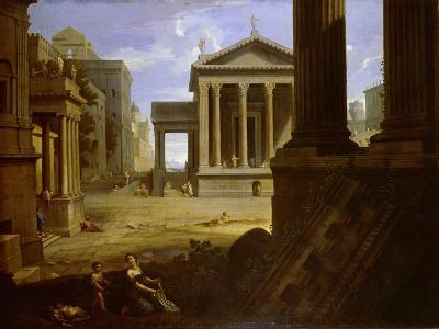 Square of an Ancient City, End 1630s-Jean Le Maire-Giclee Print