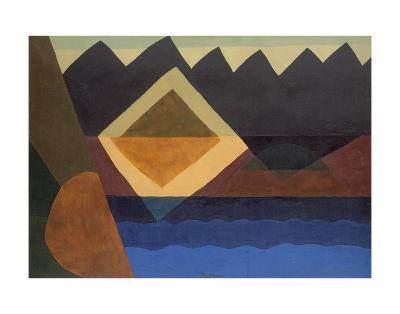 Square on the Pond, 1942-Arthur Dove-Art Print