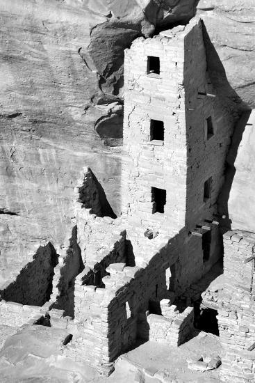 Square Tower House BW-Douglas Taylor-Photographic Print