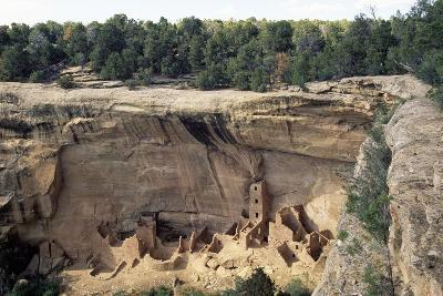 Square Tower House, Mesa Verde National Park--Photographic Print