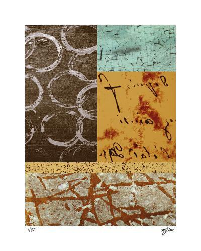 Squares and Circles I-Mj Lew-Giclee Print
