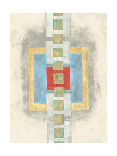 Squares in Line I-Nikki Galapon-Art Print