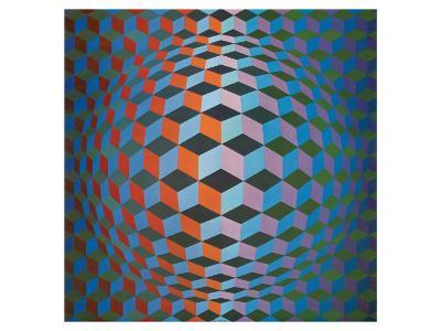 Squares-Victor Vasarely-Premium Giclee Print