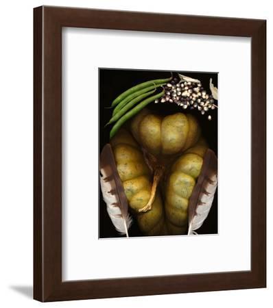 Squash Beans Corn indian Garden--Framed Art Print