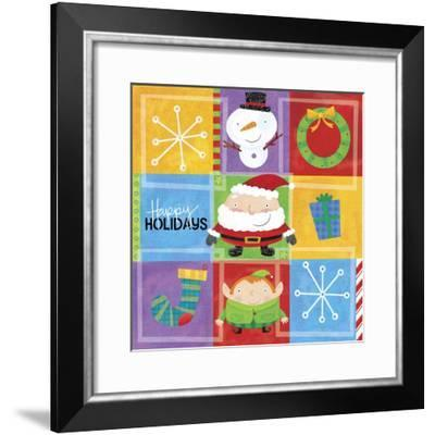 Squatty Bodies 1-Holli Conger-Framed Giclee Print