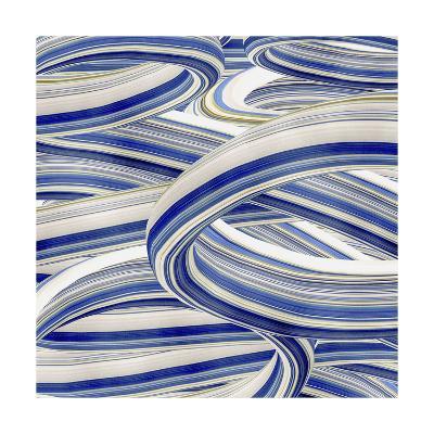 Squeegee Blues 4-Arabella Studios-Premium Giclee Print