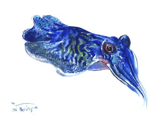 Squid-Suren Nersisyan-Art Print