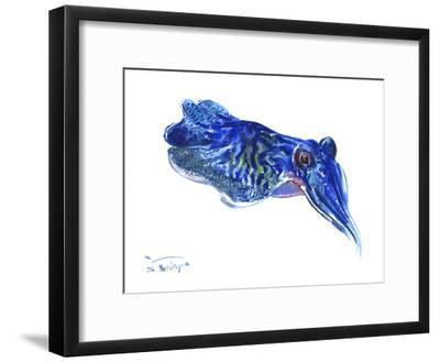 Squid-Suren Nersisyan-Framed Art Print