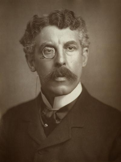 Squire Bancroft, British, Actor-Manager, 1883--Photographic Print