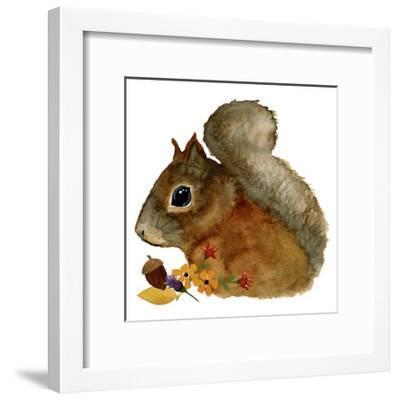 Squirrel-Jennifer Nilsson-Framed Giclee Print