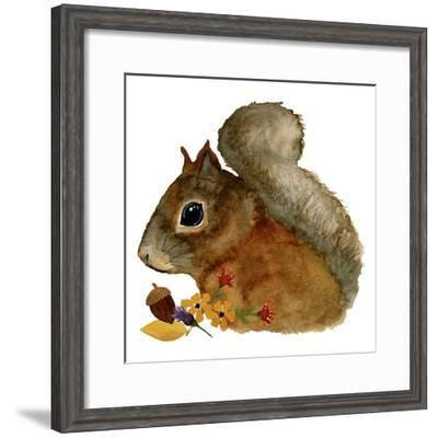 Squirrel-Jennifer Nilsson-Framed Giclee Print