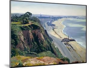 Santa Monica from Above the Palisades by Sr Emil Kosa