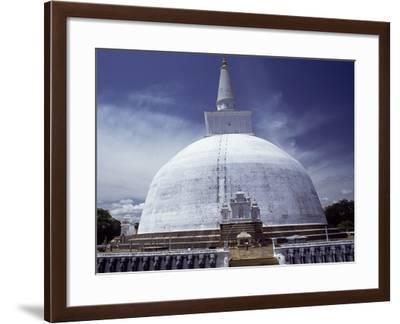 Sri Lanka, Anuradhapura, Dagoba Ruvanvelisiya--Framed Photographic Print