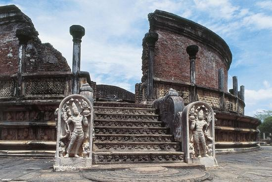 Sri Lanka, Polonnaruwa, Vatadage or Circular Relic House--Giclee Print