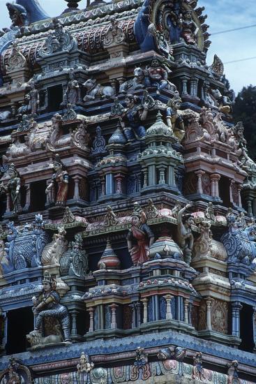 Sri Lanka, Sacred City of Kandy, Tamil Temple--Giclee Print