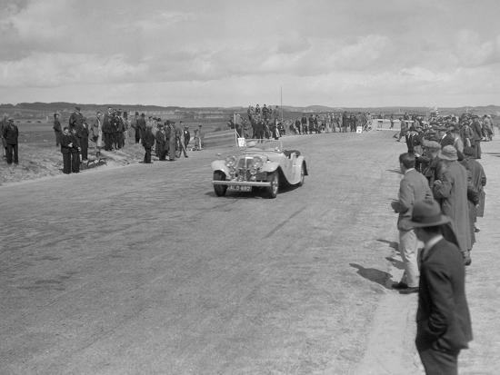 SS 1 4-seater tourer competing in the RSAC Scottish Rally, 1934-Bill Brunell-Photographic Print