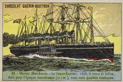 Ss Great Eastern, 1858--Giclee Print