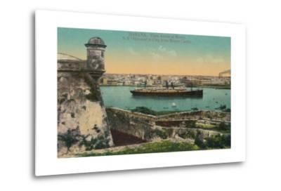 Ss Havana and City from Morro Castle, Havana, Cuba, C1910
